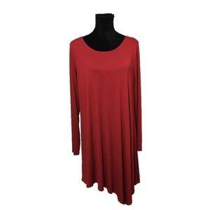 Karen Kane: asymmetrical dress